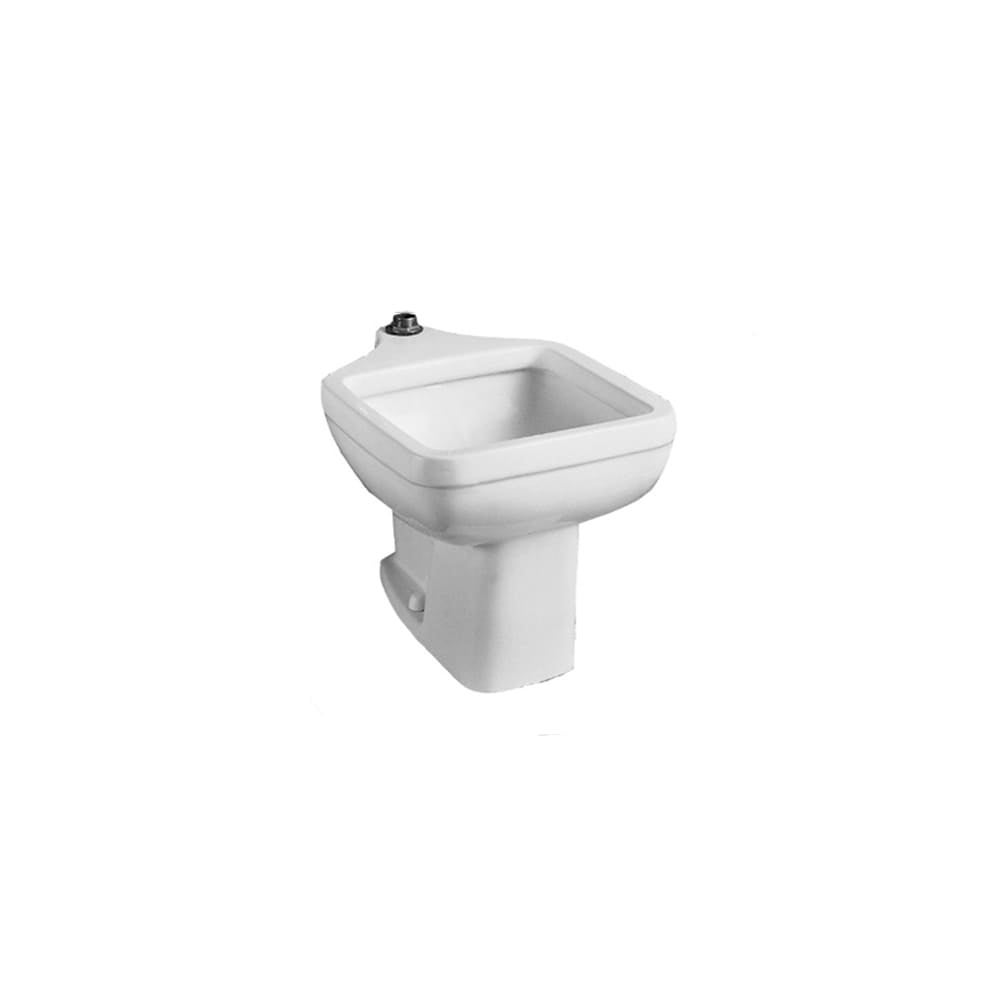 American Standard 9504 999 Clinic 20in Service Floor Mount Utility Sink Less Flushometer Free Shipping Today 16297023