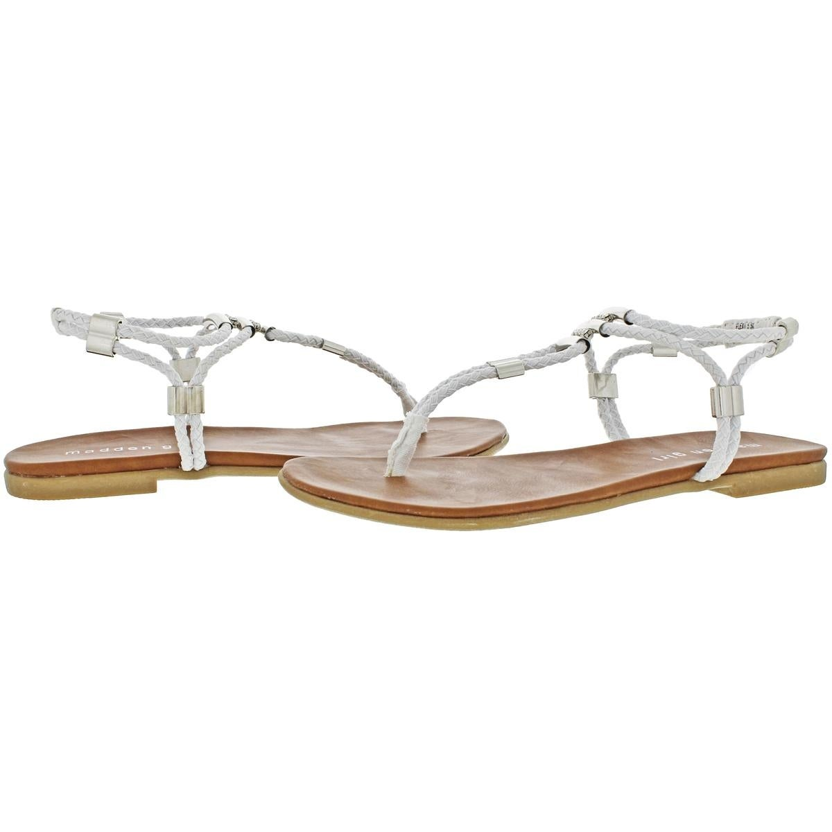 9e7b7cf27 Shop Madden Girl Womens Flexii Thong Sandals Braided Slingback - Free  Shipping On Orders Over  45 - Overstock - 22811723