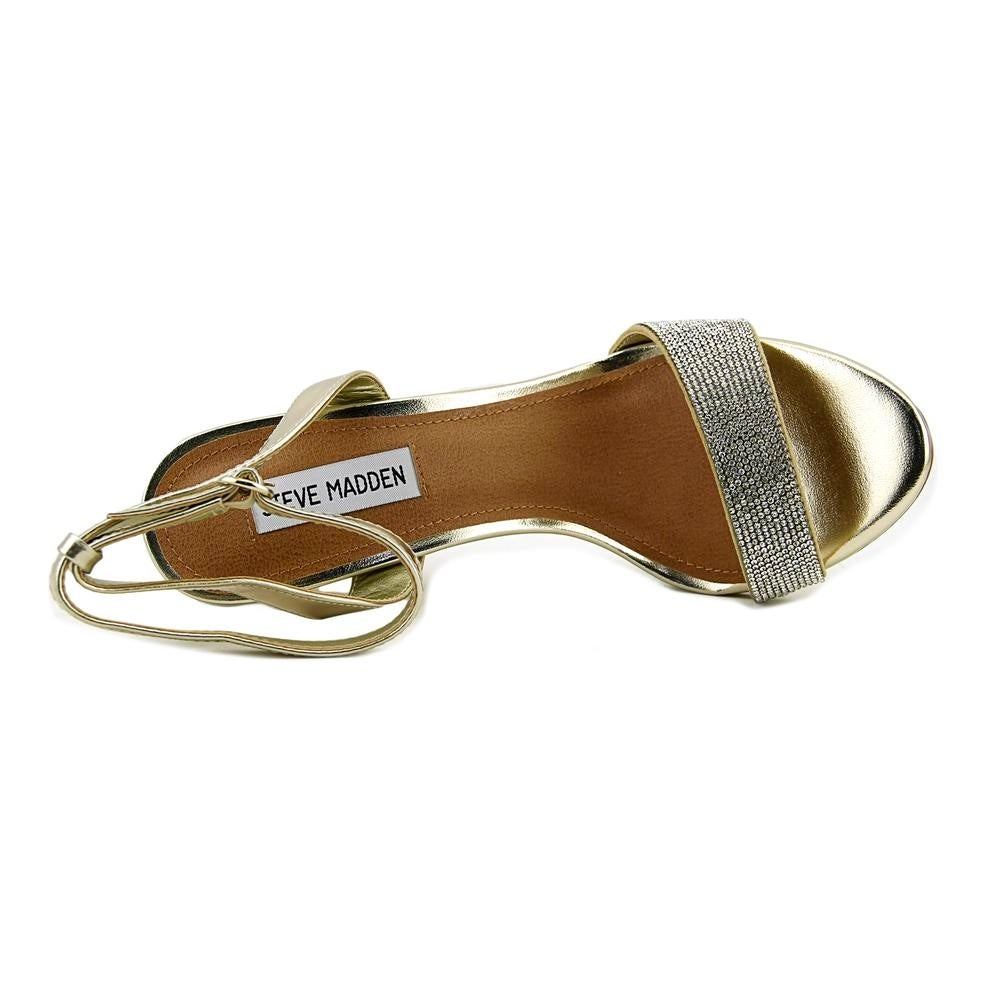 d0405b569f3 Shop Steve Madden Ritter Gold Sandals - Free Shipping Today - Overstock -  19984493