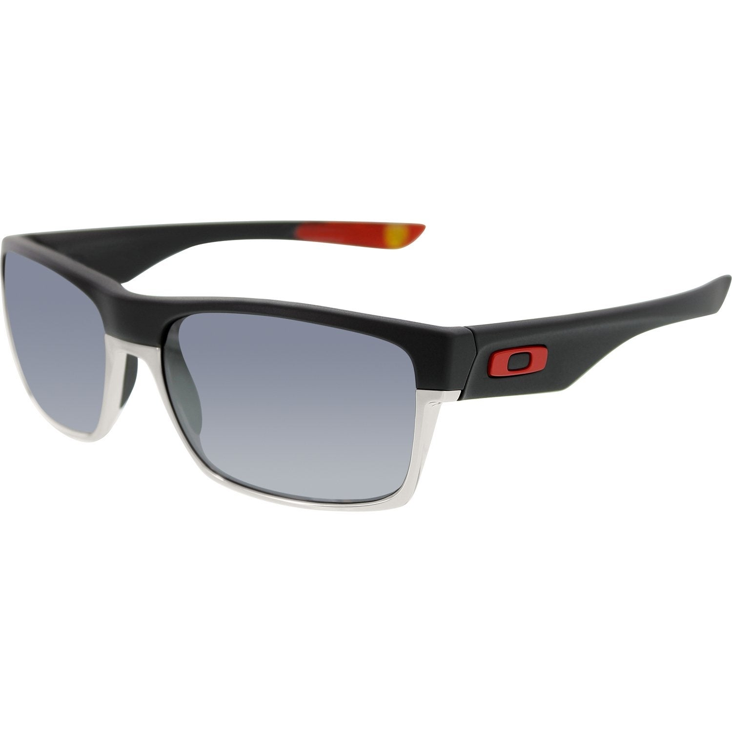 50b41f9102 Shop Oakley Men s Twoface OO9189-20 Black Rectangle Sunglasses - Free  Shipping Today - Overstock.com - 18914786
