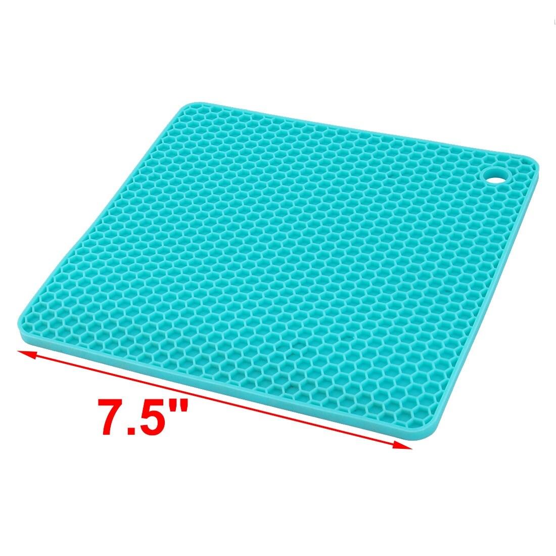 Shop Kitchen Silicone Honeycomb Design Bowl Plate Heat Resistant Mat ...