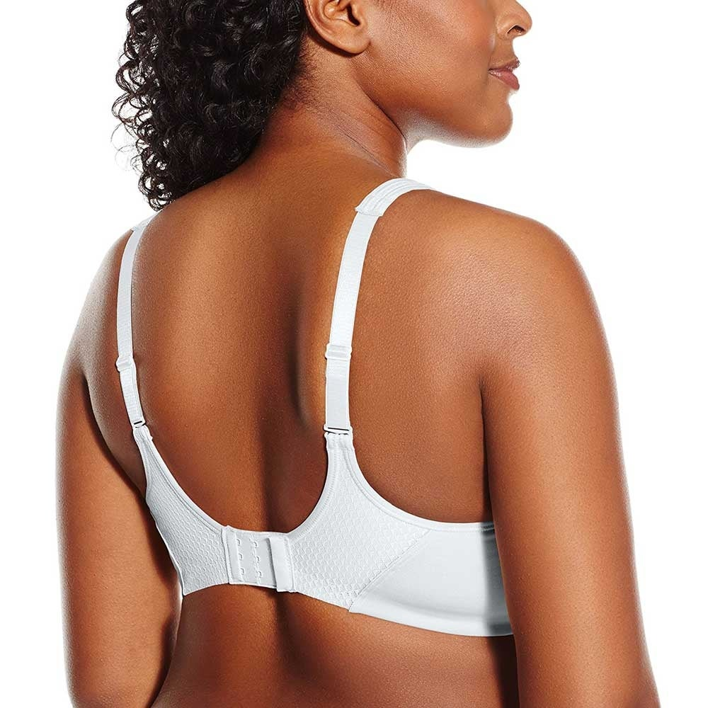 62d7ff3191 Shop Bali Women s Active Classic Coverage Foam Wire Free Bra 6570 - white blushing  pink - 40DD - Free Shipping On Orders Over  45 - - 16604681