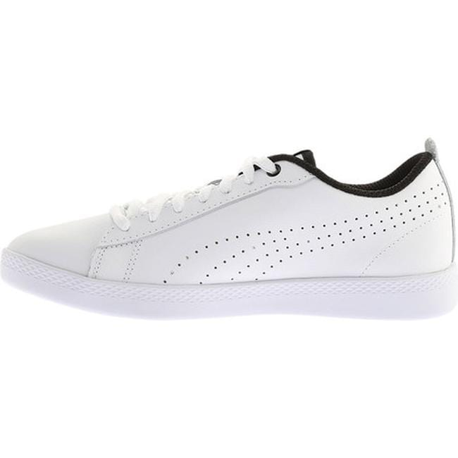 d7096e554b67 Shop PUMA Women s Smash V2 L Perf Sneaker PUMA White PUMA White - Free  Shipping On Orders Over  45 - Overstock - 20254466