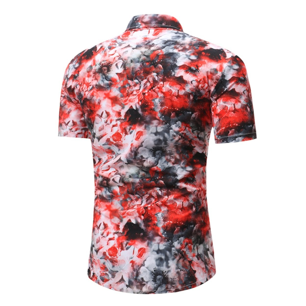 328adec1ac68 Shop Men s Floral Button Down Short Sleeve Hawaiian Tropical Shirt - On  Sale - Free Shipping On Orders Over  45 - Overstock - 27184793