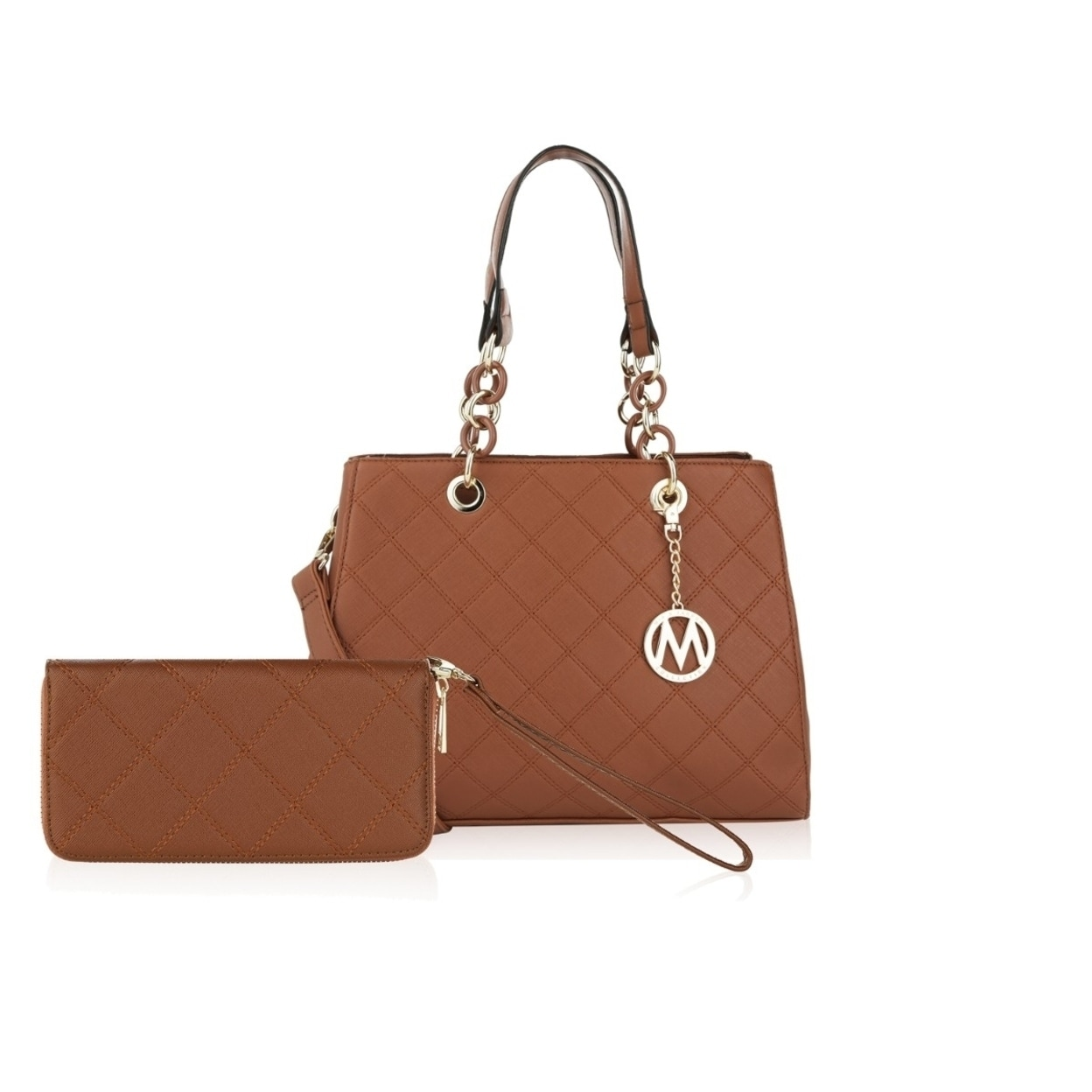 caac058861d7 Shop MKF Collection Chantelle Shoulder Bag & Free Wallet by Mia K ...