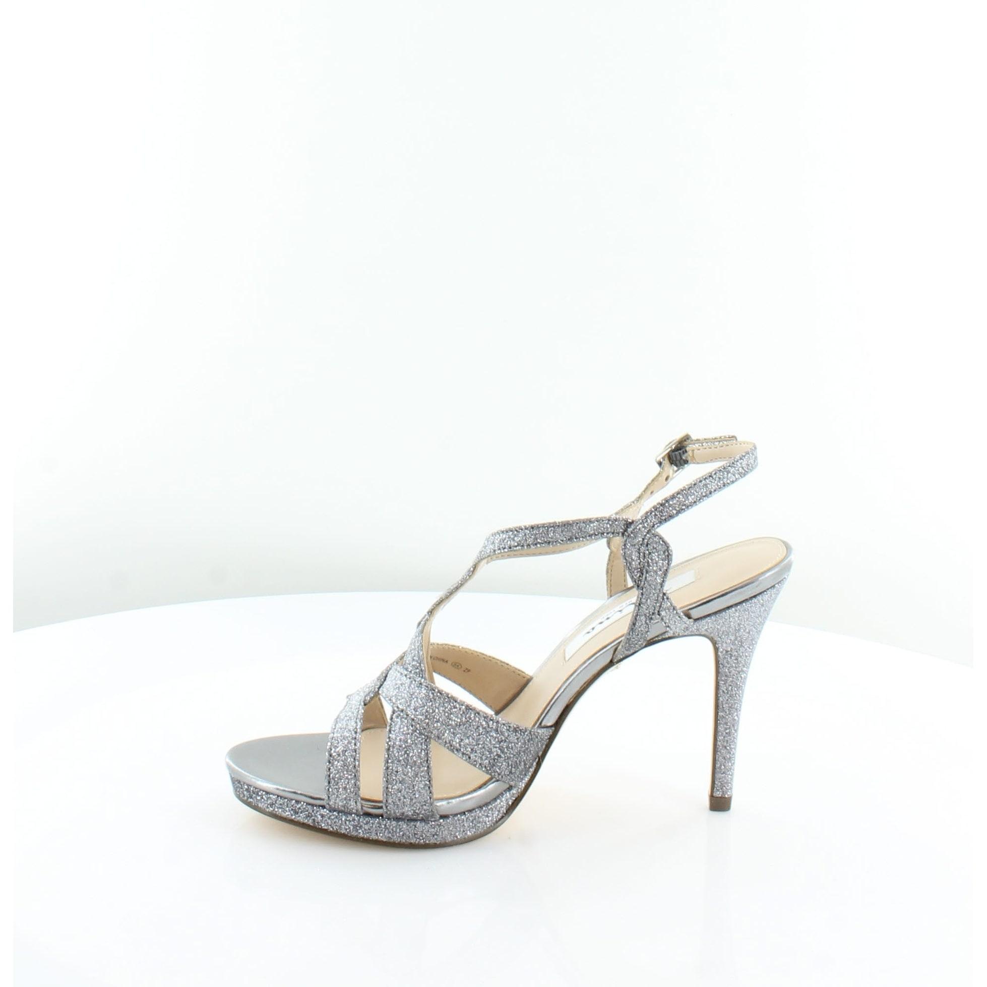 90b63eb0f Shop Nina Raeni Women s Sandals Pewter Baby Glitter - 7 - Free Shipping  Today - Overstock.com - 22411004