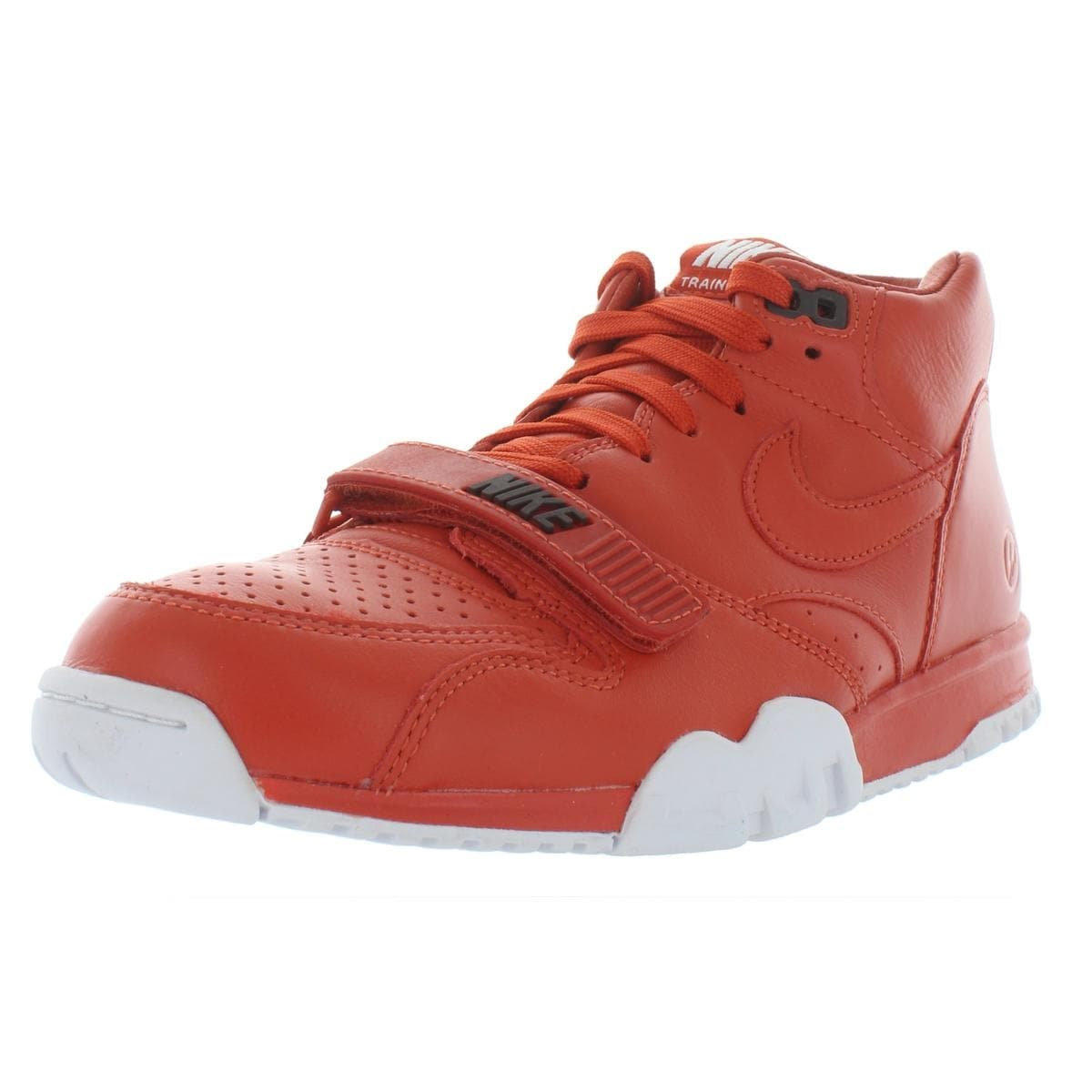 wholesale dealer 3b8e9 5174e Shop Nike Mens Air Trainer 1 Mid Sp Fragment Athletic Shoes Leather Mid-Top  - Free Shipping Today - Overstock - 27998604