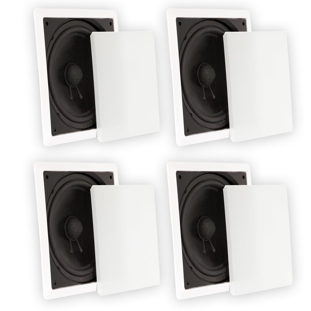 In Wall Subwoofer >> Shop Theater Solutions Ts1000 Passive 10 Home Theater In Wall
