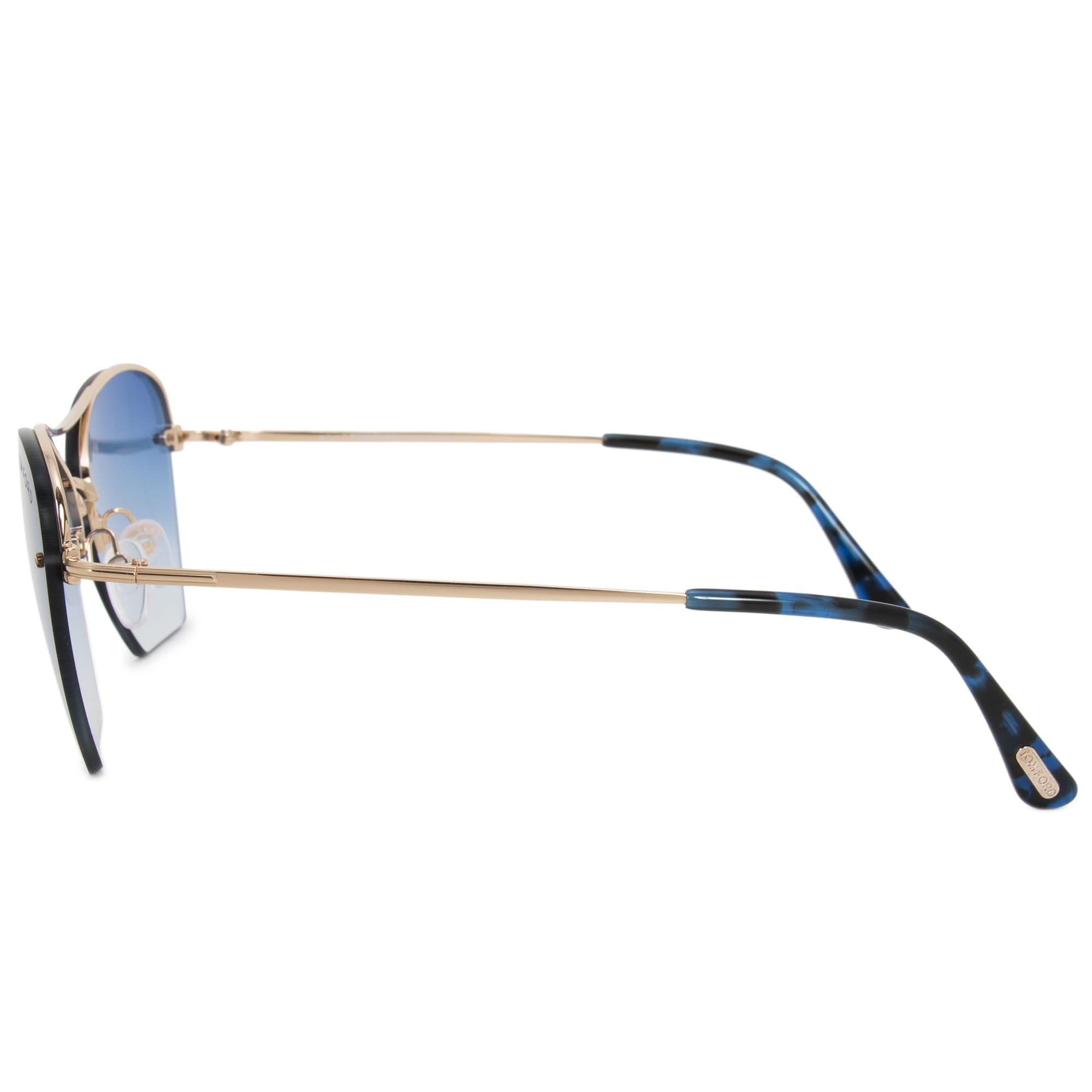 c6628ffeb8d34 Shop Tom Ford Annabel Aviator Sunglasses FT0507 28W 58