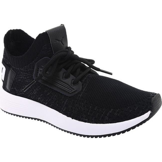 afd88474c373 Shop PUMA Women s Uprise Knit Sneaker PUMA Black Iron Gate PUMA ...