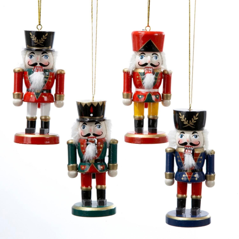 Shop Club Pack of 36 Traditional Christmas Nutcracker Ornaments 4 ...