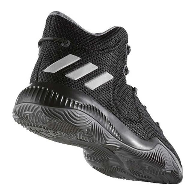 adidas Crazy Explosive TD Basketball Shoe Core BlackGrey