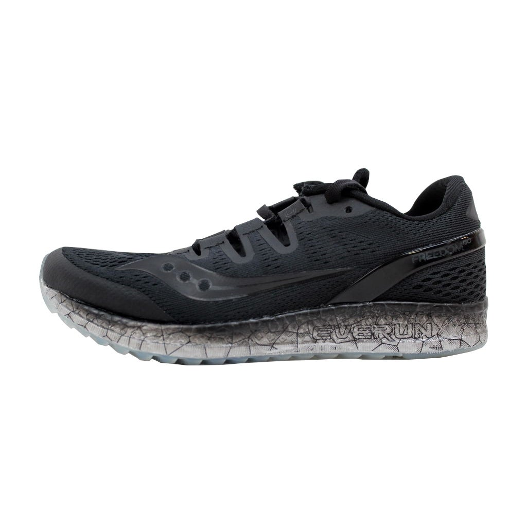 f7d9a8d96a584 Shop Saucony Freedom Iso Black S10355-1 Women s - Free Shipping Today -  Overstock - 20129058