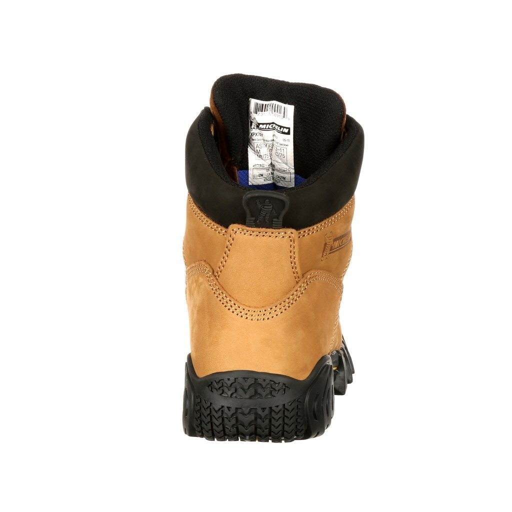 d4e0a233c1be60 Shop Michelin Work Boots Mens Sledge Steel Toe Metatarsal Brown - Free  Shipping Today - Overstock - 15381213
