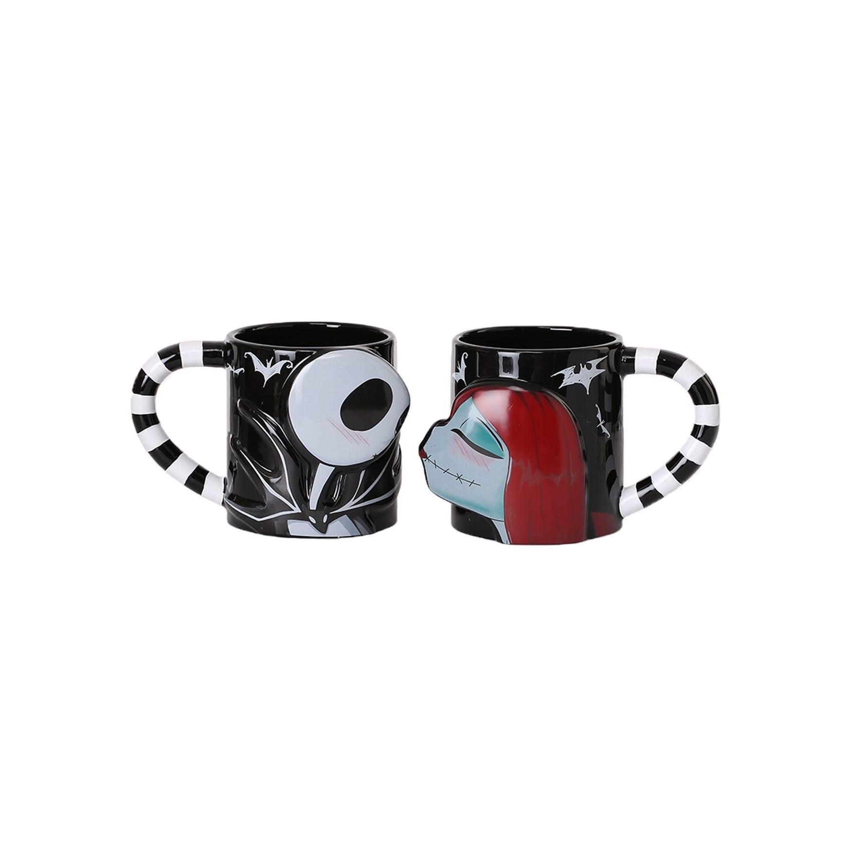 Shop Nightmare Before Christmas Jack and Sally 2 piece Mug Set ...
