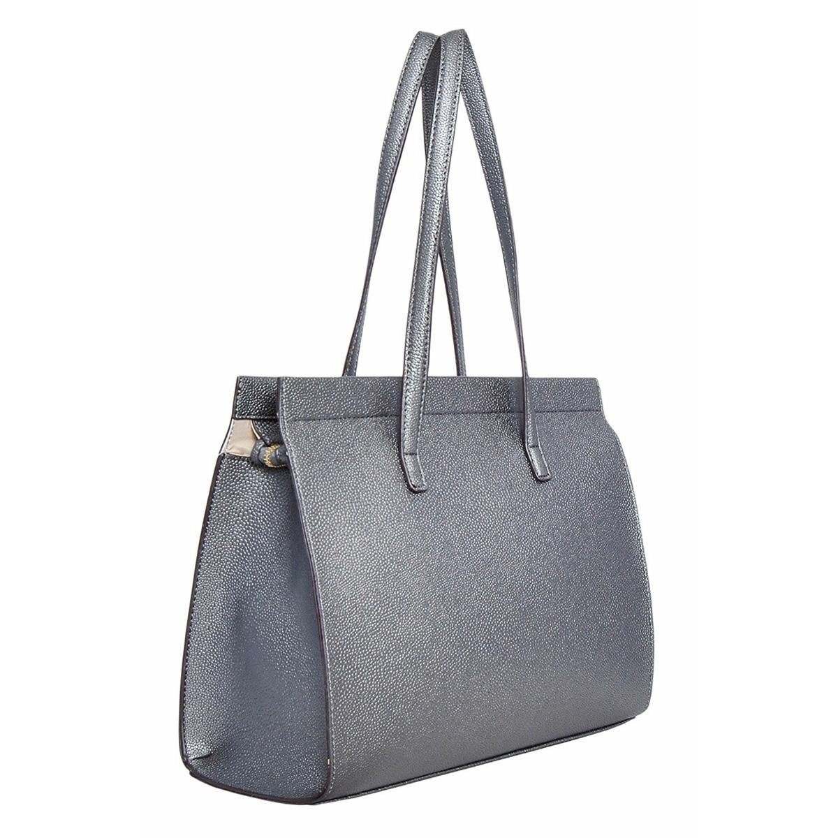 Tahari Womens T Riffic Satchel Handbag Faux Leather Pebbled Large Free Shipping On Orders Over 45 17167625