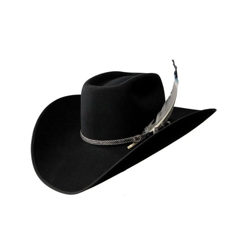 67cf79286db Shop Resistol Cowboy Hat Mens Bull Bash 4X Black - Free Shipping .