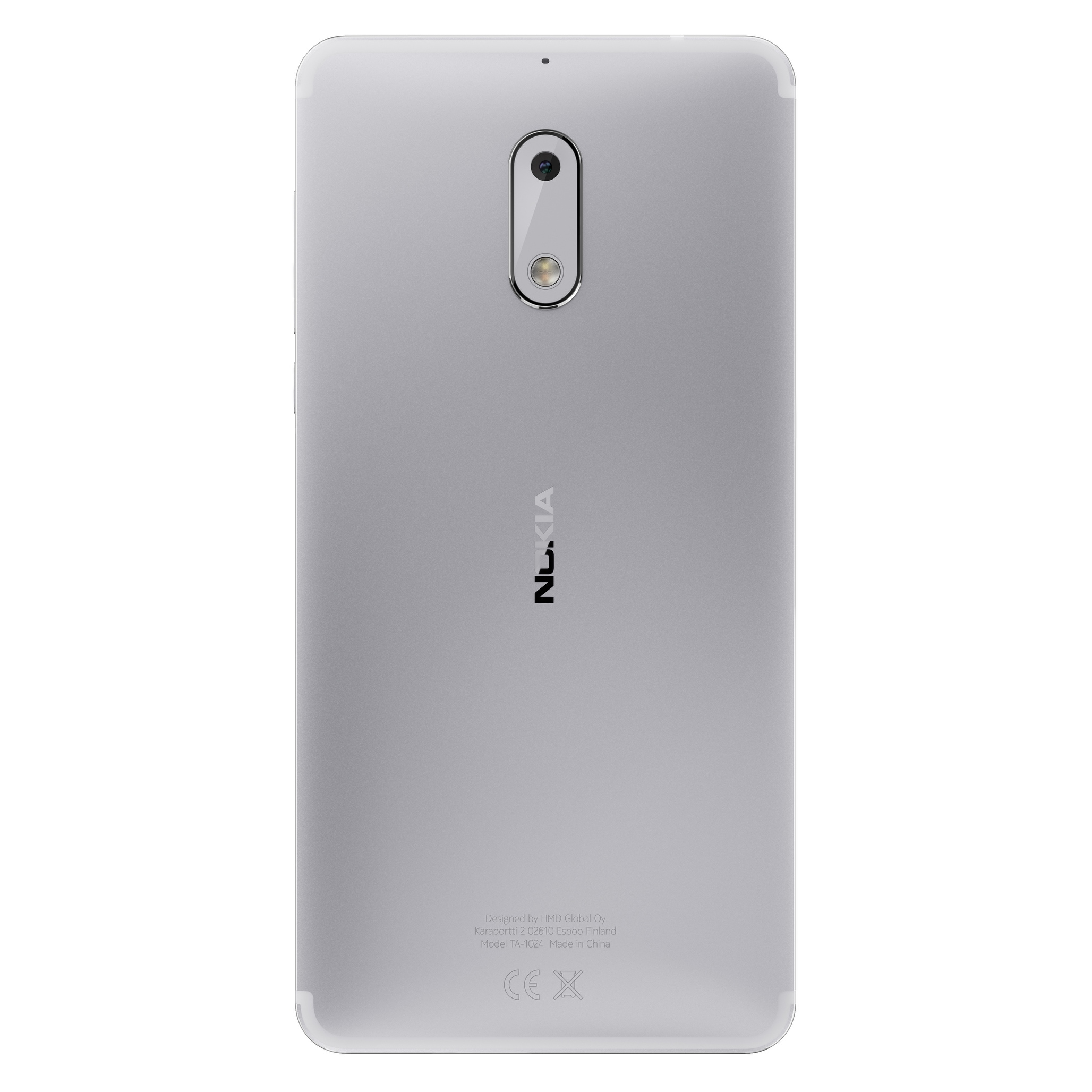 Shop Nokia 6 Ta 1025 32gb Unlocked Gsm Android Phone W 16mp Camera 603 2gb White Free Shipping Today 17740079