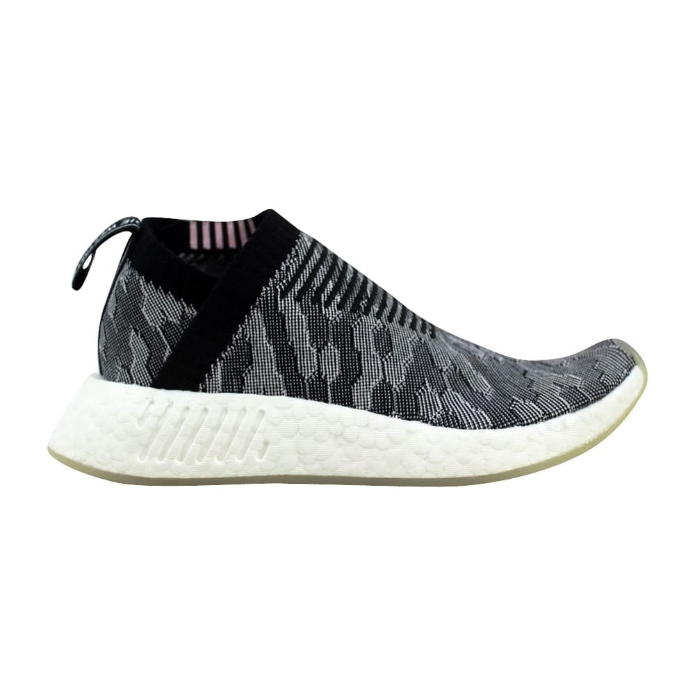 096006dd26c27 Shop Adidas NMD CS2 Primeknit W Black Grey-Pink Women s BY9312 Size ...