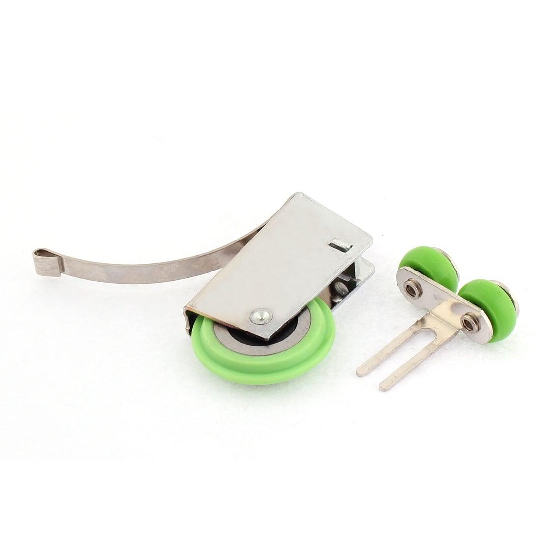Shop Ball Bearing Wheel Adjustable Sliding Screen Door Roller 2pcs