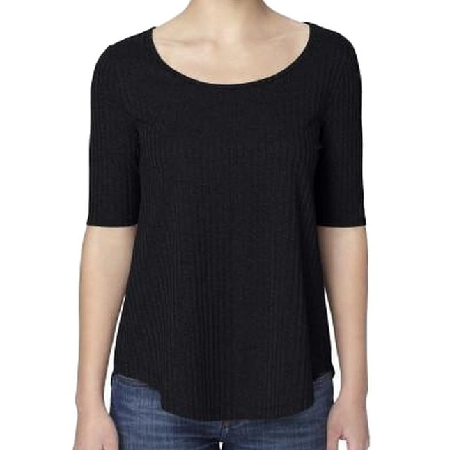 d18eafb8800 Shop Catherine Malandrino NEW Black Women's Size Small S Scoop-Neck Blouse  - Free Shipping On Orders Over $45 - Overstock.com - 17675392