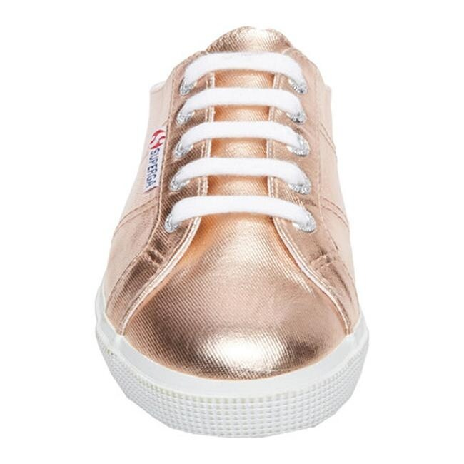 be1039375b5d Shop Superga Women s 2288 Cotmetu Sneaker Rose Gold Canvas Metallic - Free  Shipping Today - Overstock - 18027555