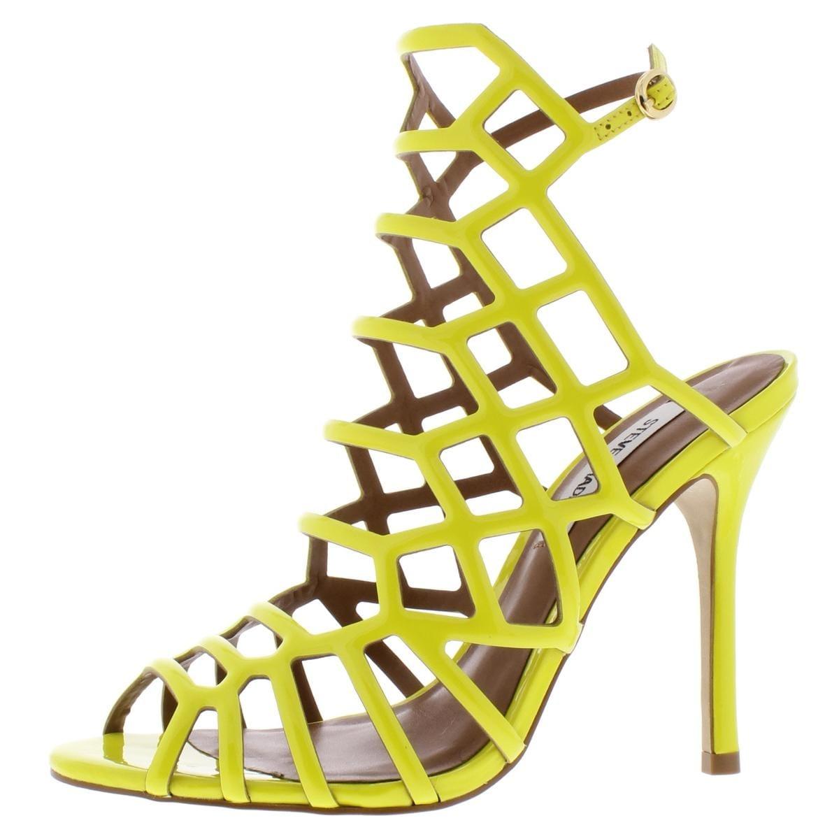 748afd3272b Steve Madden Womens Slithur Dress Sandals Caged