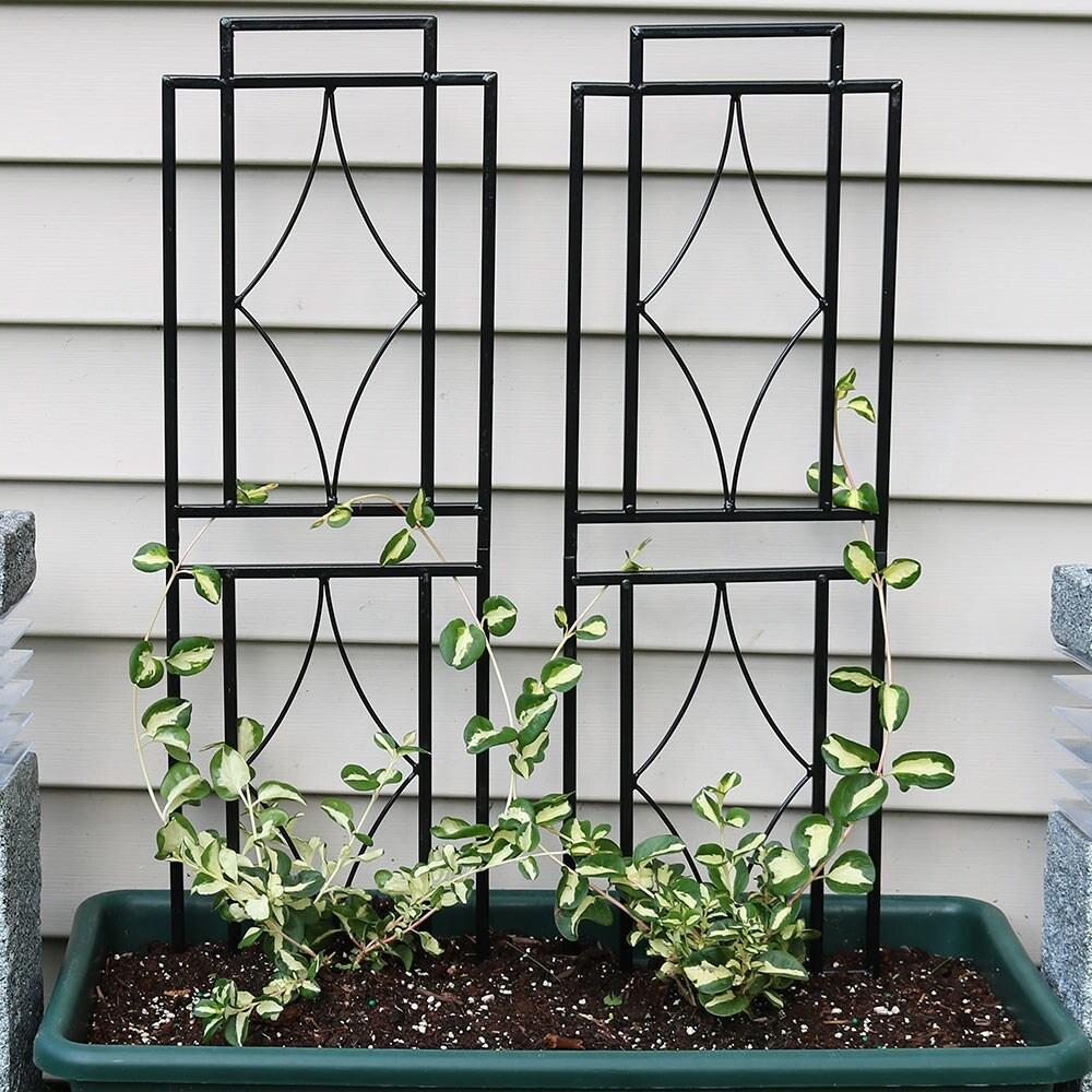 Shop Sunnydaze 30 Inch Contemporary Garden Trellis Set of 2 - Free ...