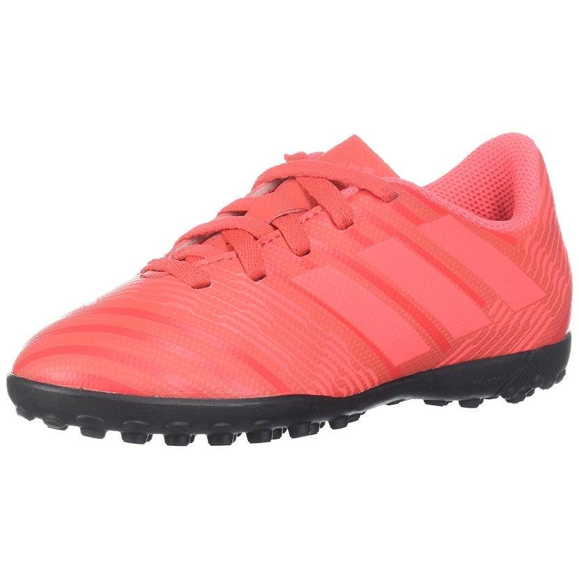 aad09b78bad4 Shop Adidas Girls NEMEZIZ TANGO Fabric Low Top Lace Up