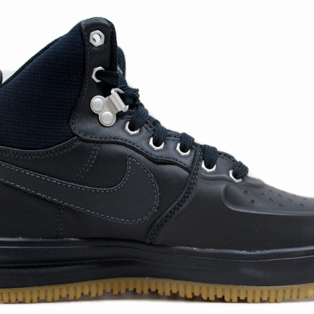 buy online 0b8e2 b0f6d Nike Grade-School Lunar Force 1 Sneakerboot GS Dark Obsidian 706803-401