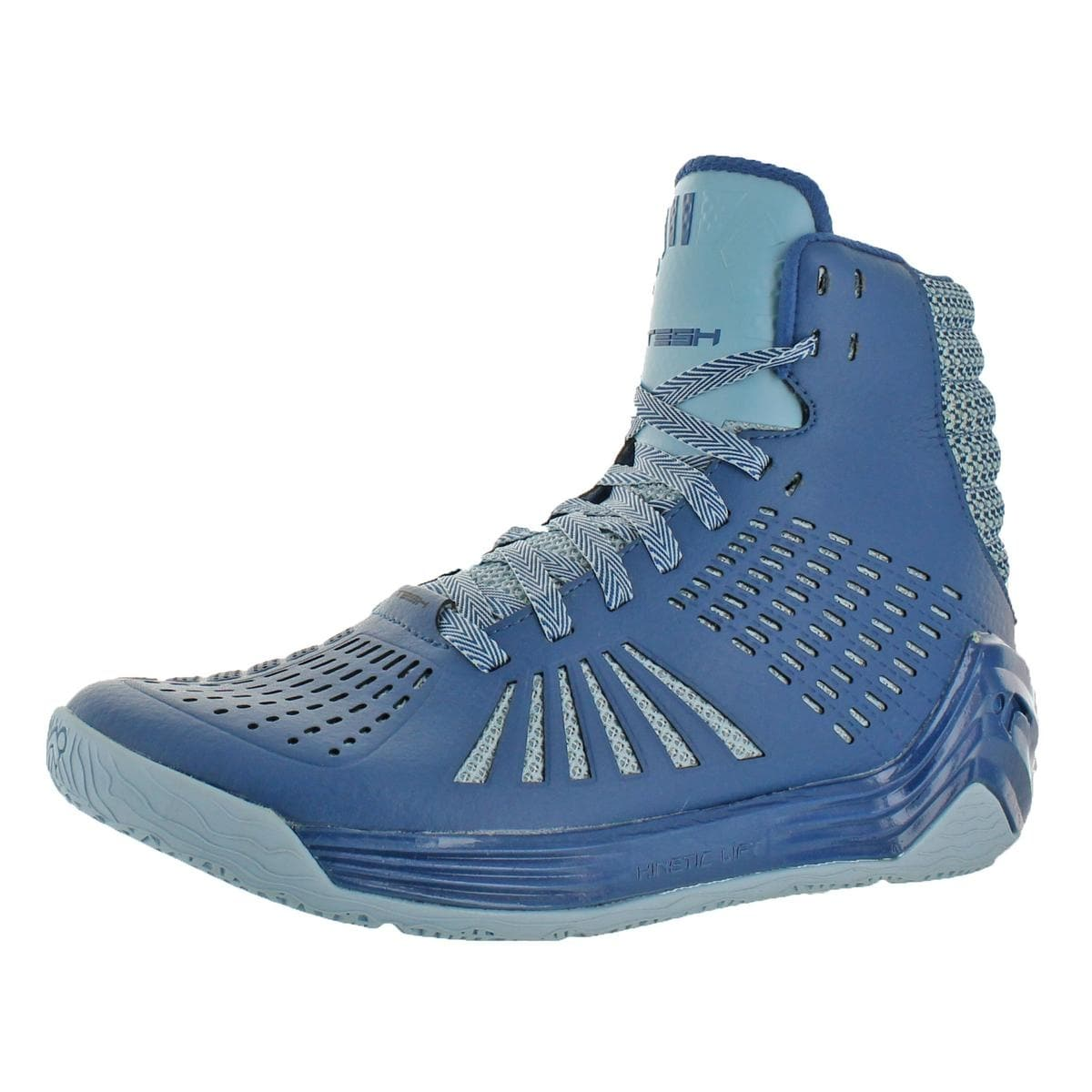 9b3684d95120 Shop Tesh Mens Trigger Basketball Shoes High Top Perforated - Free Shipping  On Orders Over  45 - Overstock - 22338775