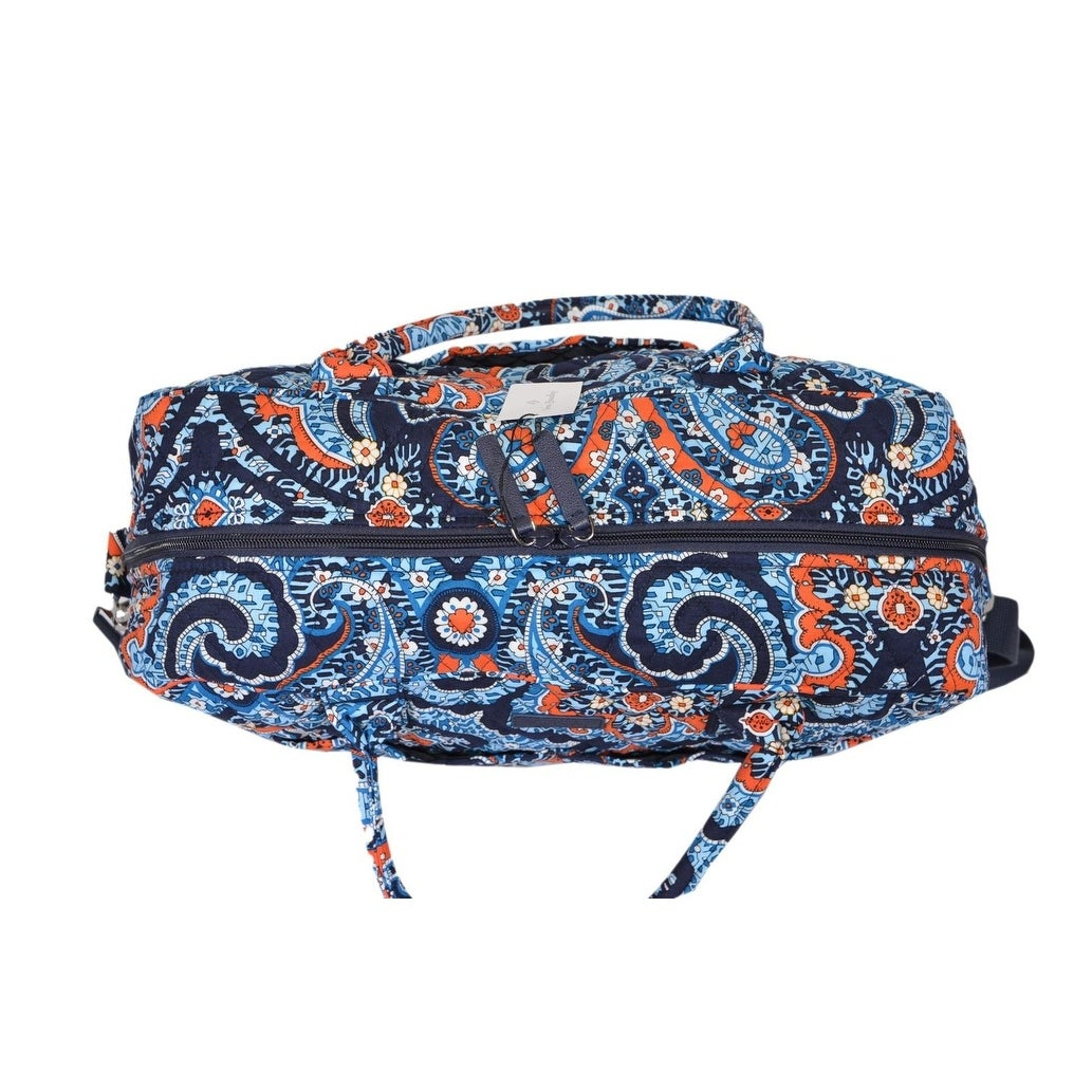 Shop Vera Bradley MARRAKESH Floral Paisley Cotton Weekender Duffle Travel  Bag - Free Shipping Today - Overstock - 21219276 5f665eac5c2bc