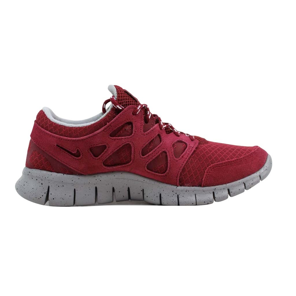 promo code b3ea3 52799 Shop Nike Men s Free Run+ 2 Team Red Team Red-Metallic Silver-Black 537732-660  - Ships To Canada - Overstock - 22340228