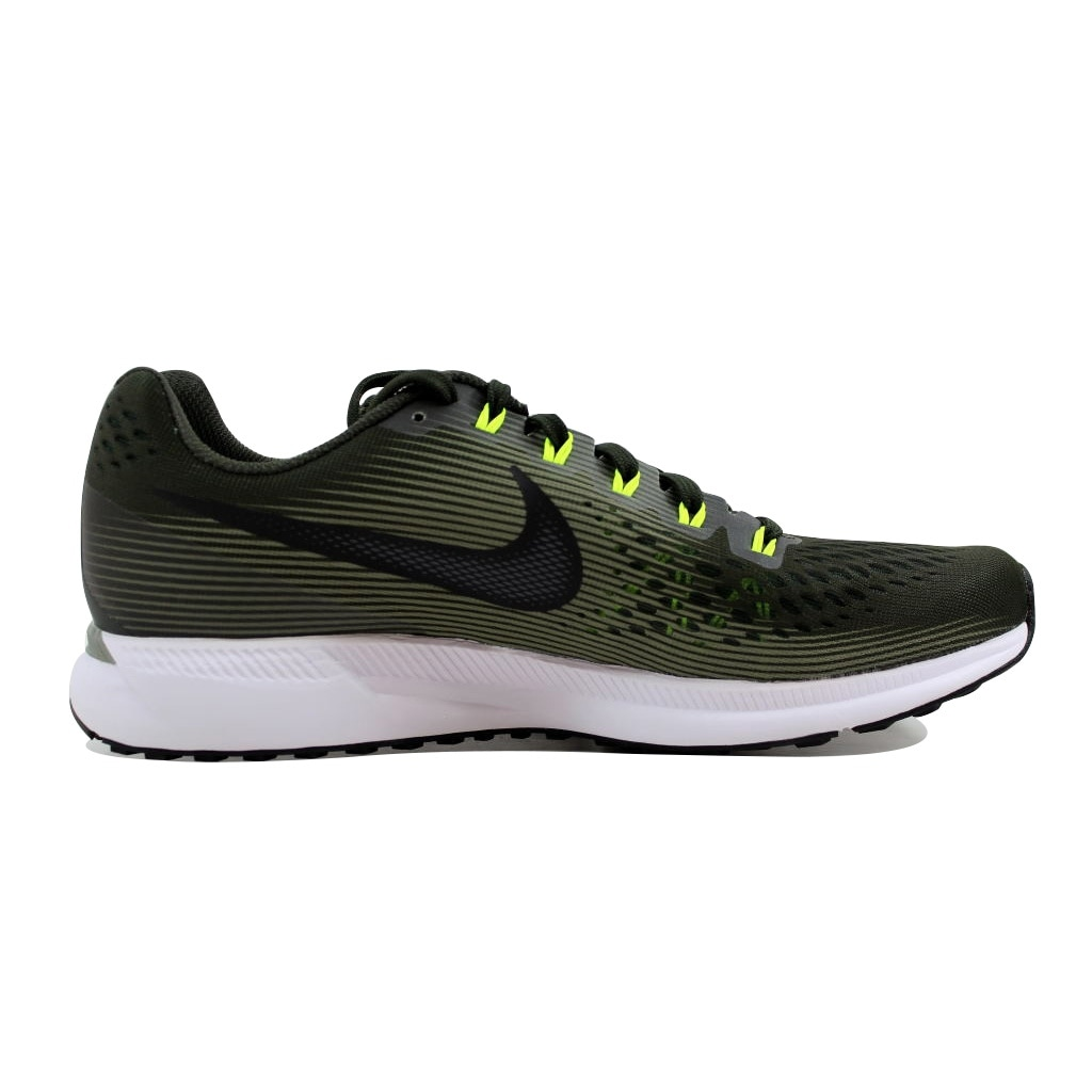 cb55e65b3cf Shop Nike Men s Air Zoom Pegasus 34 White Black-Gym Red 880555-302 - Free  Shipping Today - Overstock - 21893777