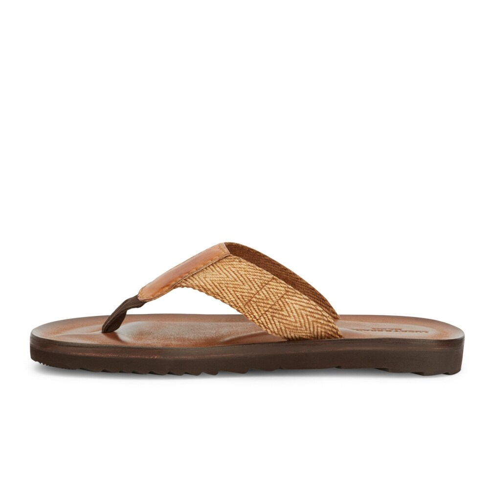 3befe4afd Shop Lucky Brand Mens Aiden Woven Flip-Flop Sandal Shoe - On Sale - Free  Shipping On Orders Over  45 - Overstock.com - 22538624