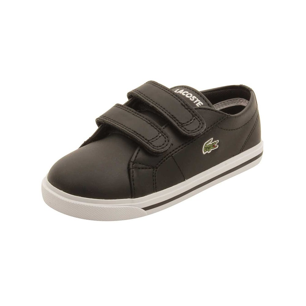 97ede6ab74c56b Shop Lacoste Infant Marcel 117 Sneakers in Black - Free Shipping Today -  Overstock.com - 16420108