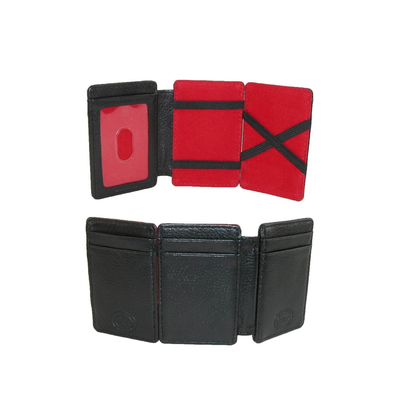 Shop buxton mens leather rfid protected magic card case wallet shop buxton mens leather rfid protected magic card case wallet one size free shipping on orders over 45 overstock 14278586 colourmoves