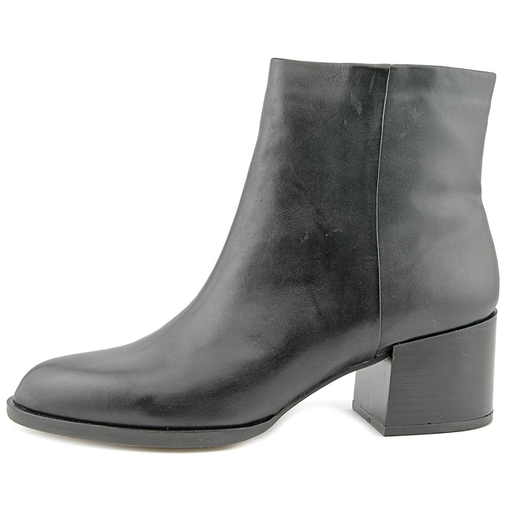 10099dbffe04 Sam Edelman Joey Women Round Toe Leather Black Ankle Boot. by Sam Edelman