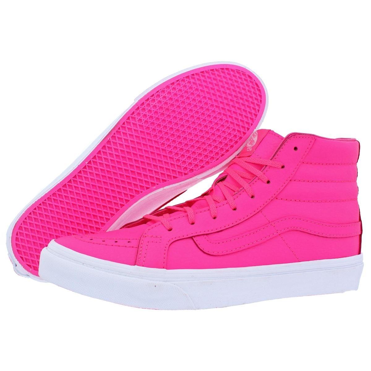 fd3ff993ed3fd5 Shop Vans Womens SK8-Hi Slim Neon High Top Sneakers Skate Neon - 8.5 medium  (b