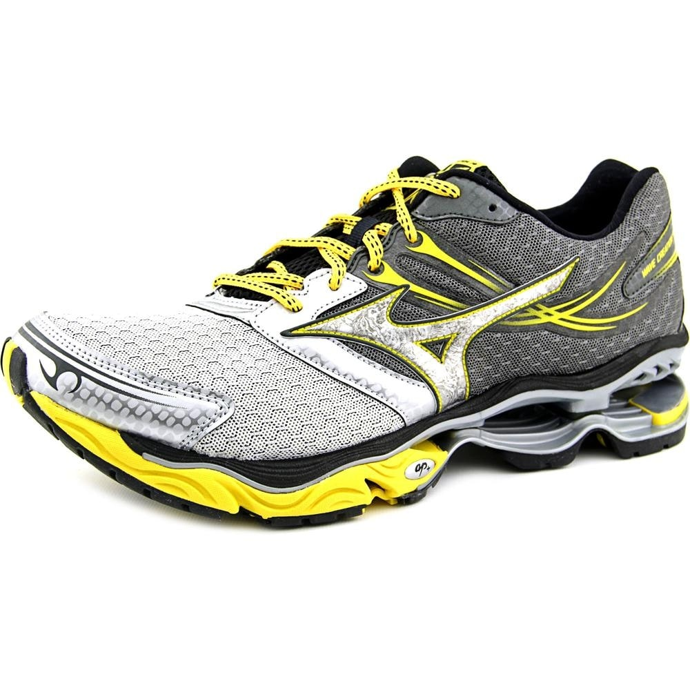 brand new 9961f e4bc4 Shop Mizuno Wave Creation 14 Men Round Toe Synthetic Gray Running Shoe -  Free Shipping Today - Overstock - 17435172