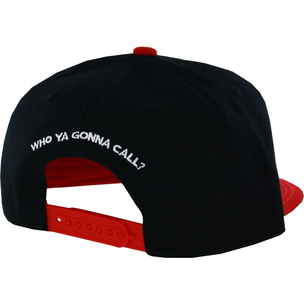 b09740927b8 Shop Ghostbusters Logo Flat Brim Snapback Hat - Free Shipping On Orders  Over  45 - Overstock - 18681734