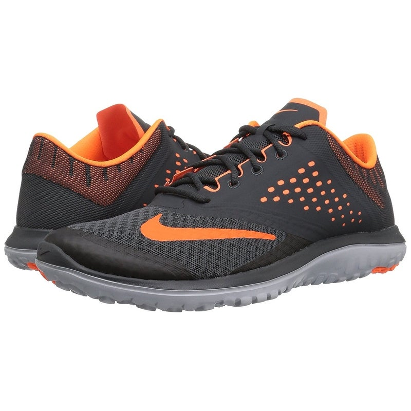hot sale online 5f080 a3942 Shop NIKE Men s FS Lite 2 Running Shoe, Anthracite Total Orange Wolf Grey -  Free Shipping Today - Overstock - 17941692
