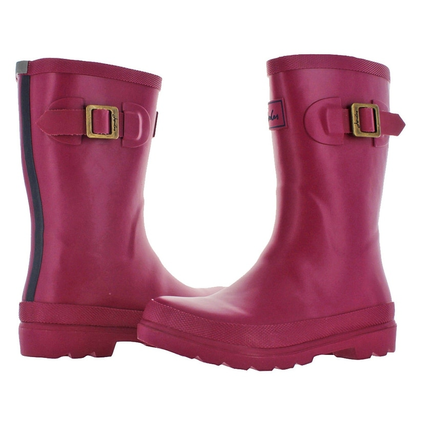 541dda92c0d7 Shop Joules Junior Girls Welly Rain Rubber Boots Waterproof - Free Shipping  On Orders Over  45 - Overstock - 15859529
