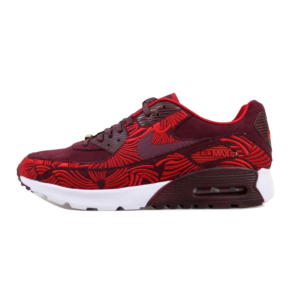 1e91815d4640 Shop Nike Women s Air Max 90 Ultra LOTC QS Night Maroon Night Maroon-Gym  Red Shanghai 847154-600 - Free Shipping Today - Overstock - 21893392