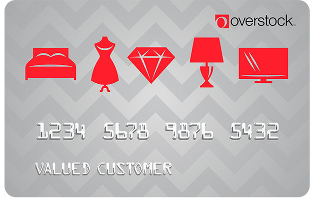 Image result for overstock credit card