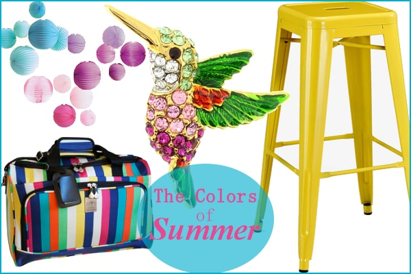 The Colors of Summer from Overstock.com