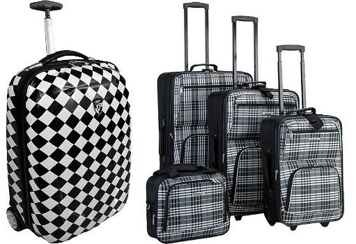Fashion luggage from Overstock.com