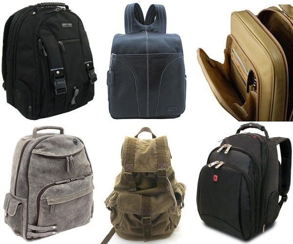 Stylish and professional men's backpacks