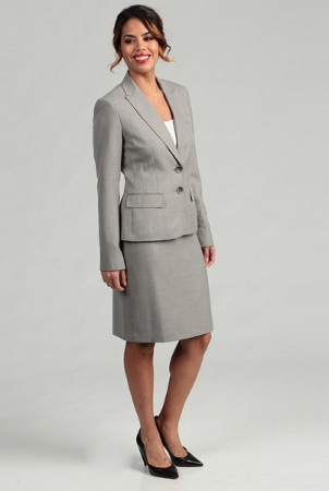 How to Wear a Skirt Suit | Overstock.com