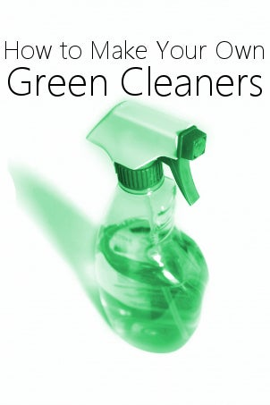 Green Cleaners: How to Make Your Own from Overstock™. Going green means going chemical-free! Make your home green cleaners and create an eco-friendly home.